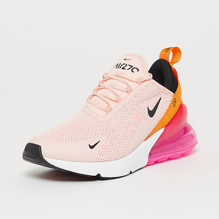 Air Max 270 washed coralblacklaser fuchsia