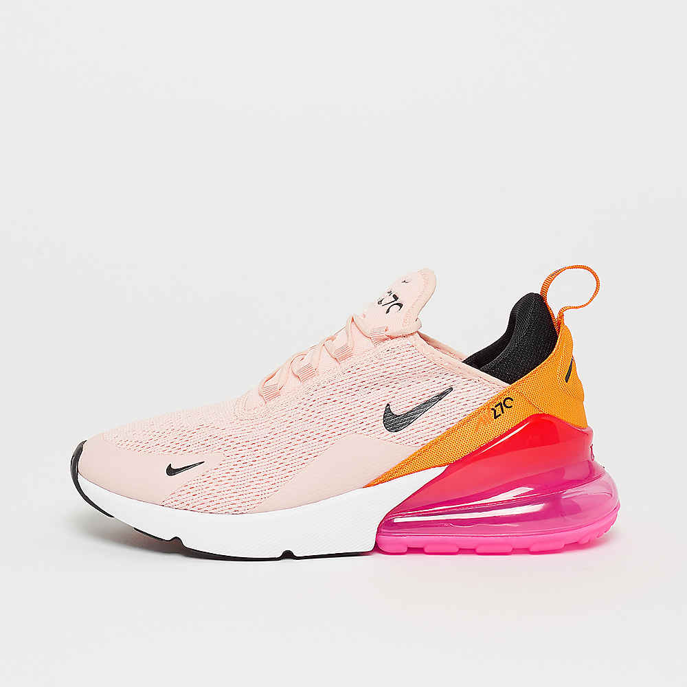 Air Max 270 washed coral/black/laser fuchsia