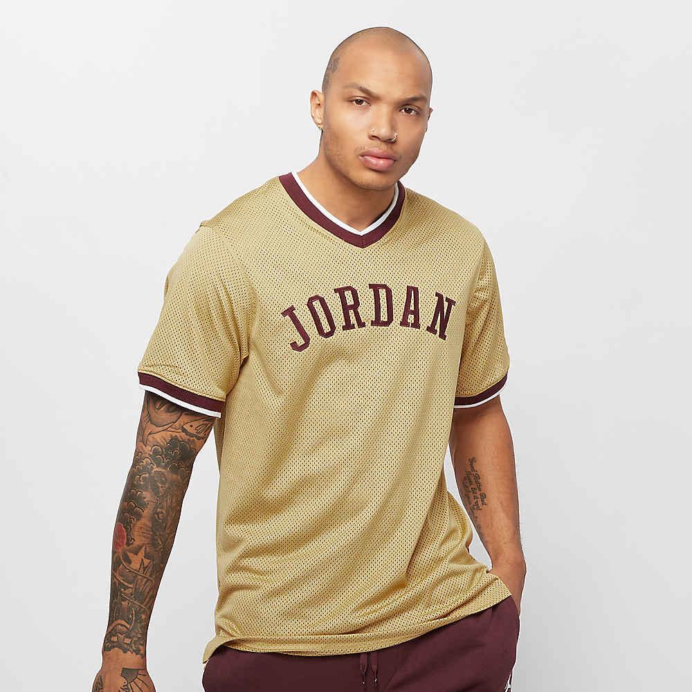 c994ca093d1eb Compra JORDAN Jumpman Mesh Jersey club gold night maroon Camisetas  deportivas en SNIPES