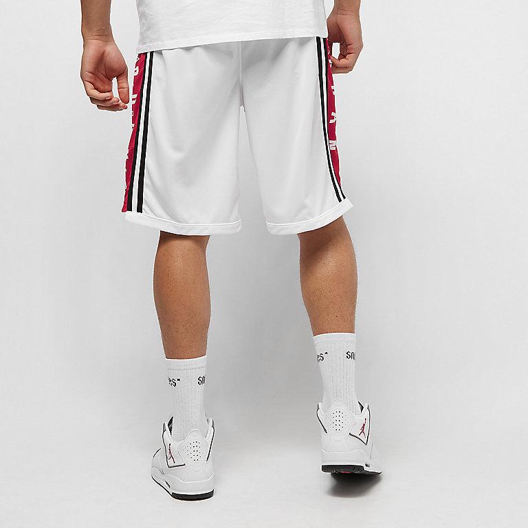 f6e6c666372 JORDAN HBR BASKETBALL SHORT white/gym red/black Sport Shorts bei SNIPES  bestellen