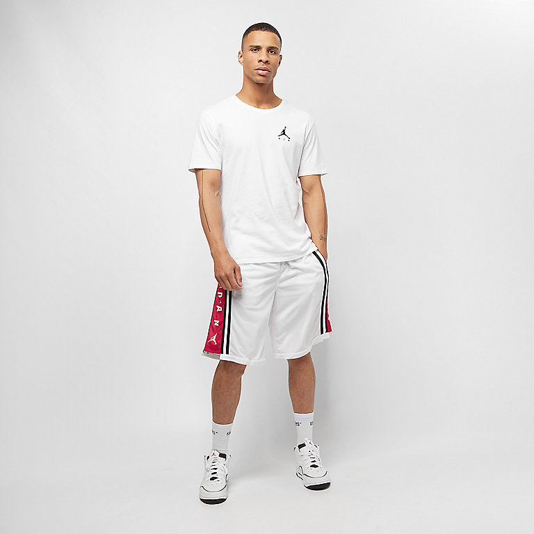 4c03085f34c JORDAN HBR BASKETBALL SHORT white/gym red/black Sport Shorts bei ...