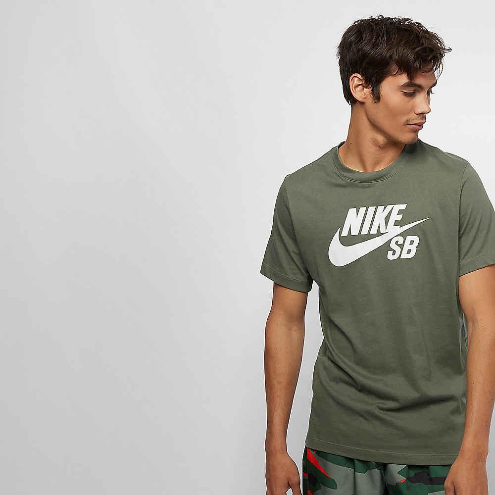 save off 5453c d1ad8 NIKE SB SB DRY DFCT LOGO medium olive white T-Shirts bei SNIPES bestellen