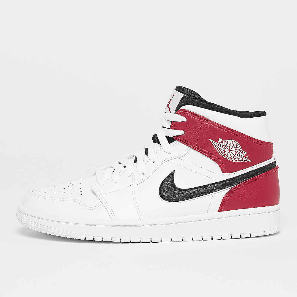 Air Jordan 1 Mid white/black/gym red