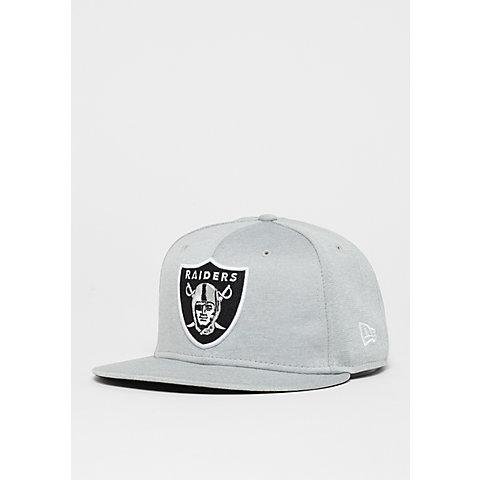 half off aeff6 0bc05 New Era 59Fifty NFL Oakland Raiders Shadow Tech snow gray otc