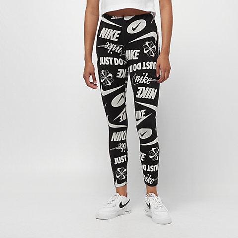 7f609b8d807423 NIKE NSW Legasee Legging Logos black/white