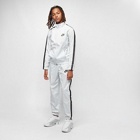 a02a5ea96136b NIKE B NSW Woven Track Suit pure platinum/black/pure platinum/blk