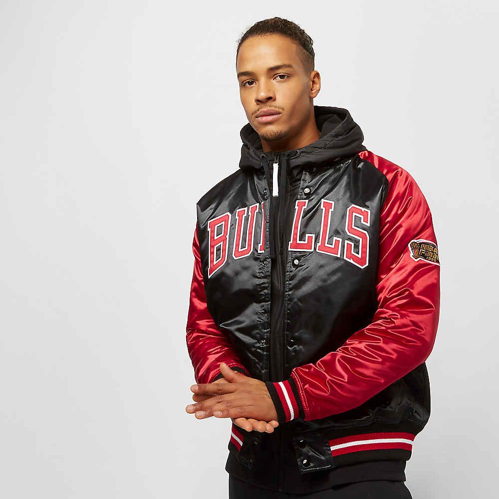 c12263ac1 Mitchell & Ness NBA Tough Season Satin Chicago Bulls black/red bij SNIPES  bestellen