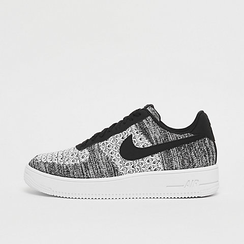 1c89ce9043 NIKE Air Force 1 Flyknit Low black/pure platinum/black