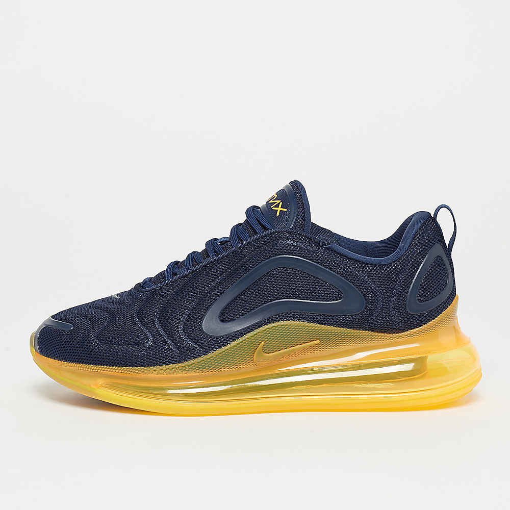 NIKE Air Max 720 navy/orange Sneaker bei SNIPES