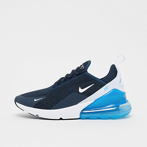 261dbf8dad NIKE Air Max 270 armory navy/white-blue force-white
