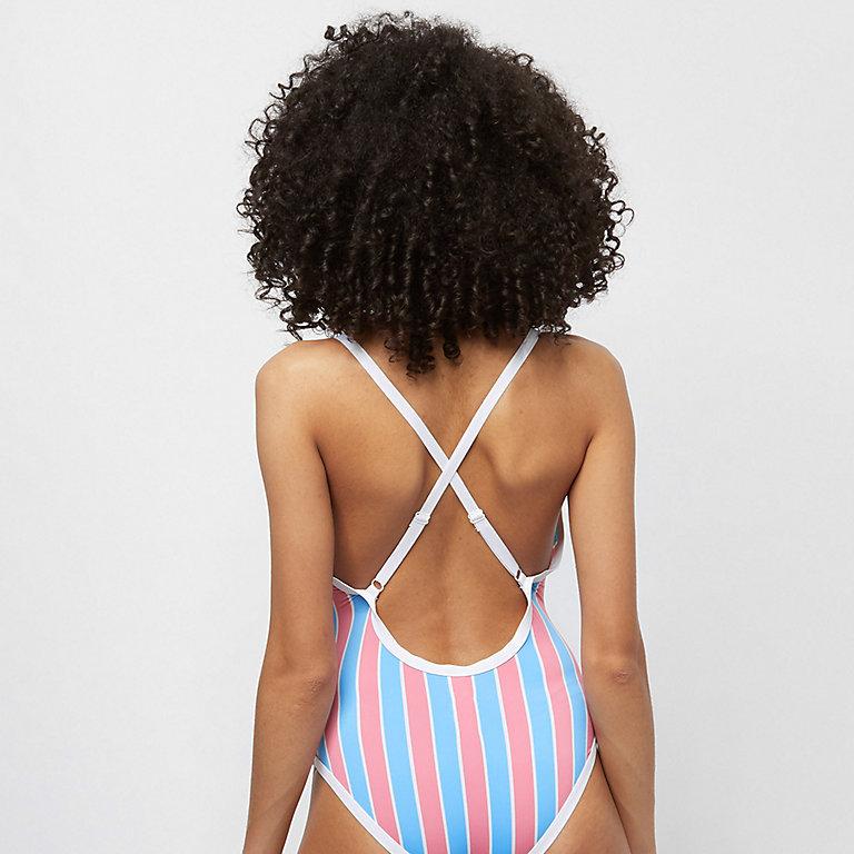 8ed77fd48a Ellesse Cebu Stripe Swimsuit Badeanzug bei SNIPES