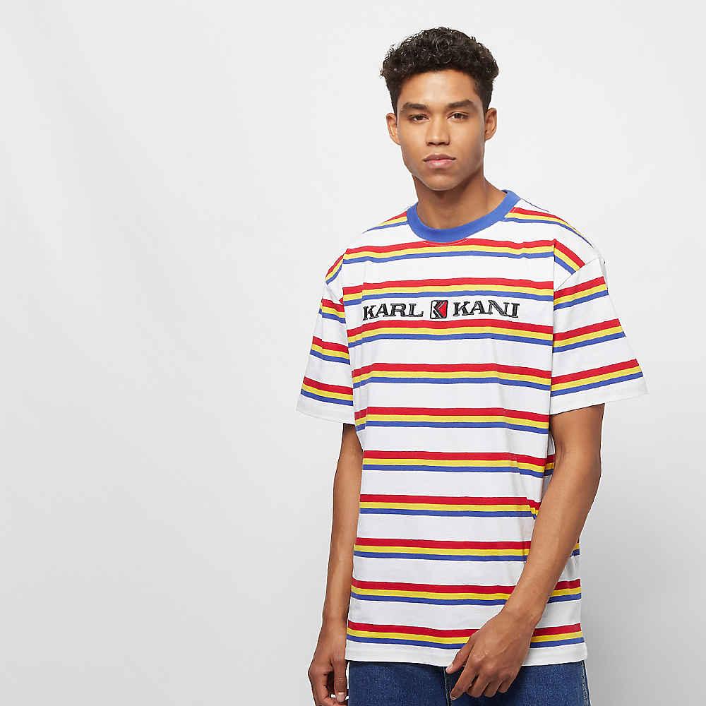d3c568a22940 Compra Karl Kani KK Retro Stripe Tee white/red/yellow/navy T-Shirts en  SNIPES