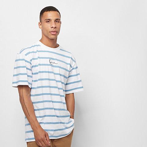 bbf6035097d3b Karl Kani Signature Stripe white/blue