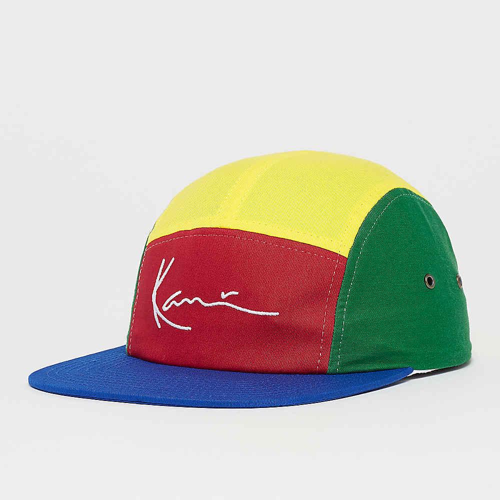 a0cb4e304a7e80 Karl Kani KK Signature Curved Cap navy/red/yellow/green/white ...