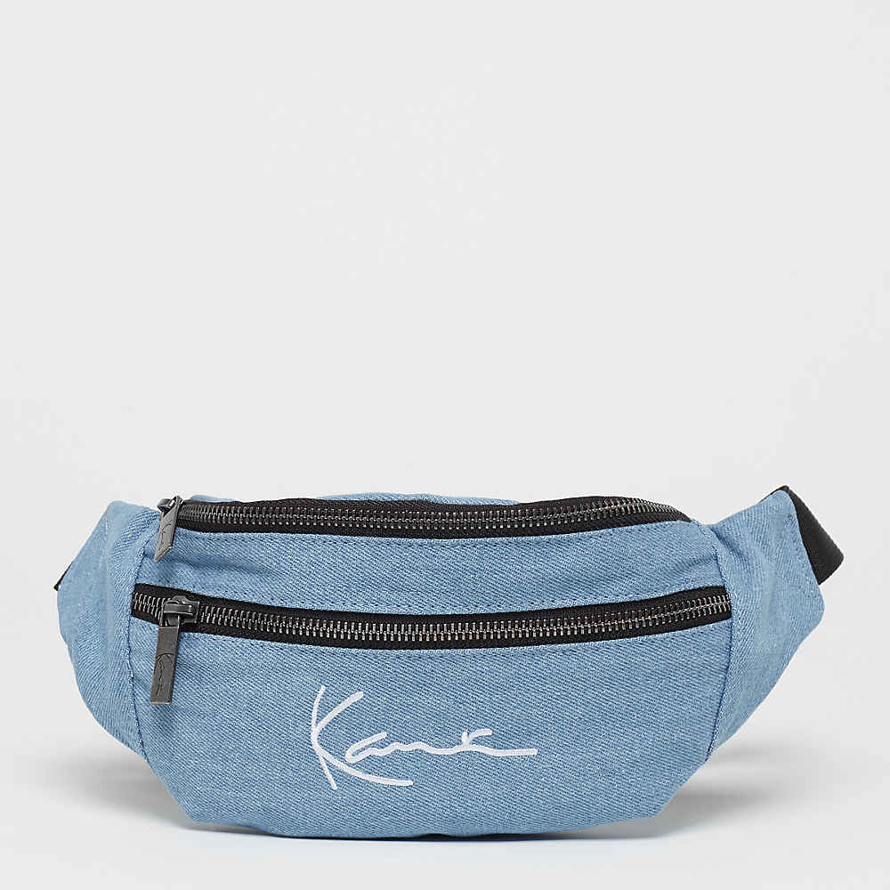 79dbaaddd Compra Karl Kani KK Signature Denim Waist Bag blue black Riñoneras en SNIPES