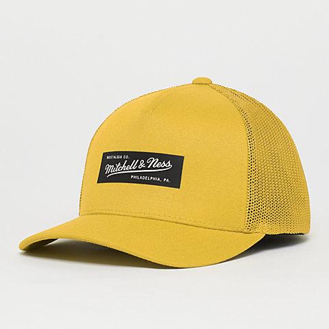 8bdab6ec62dd8f Mitchell & Ness Fuse 110 Curved Snapback vivid yellow