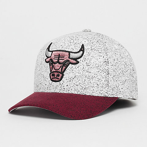 123bae0e68b7a1 Mitchell & Ness NBA Chicago Bulls No Rest 110 Curved white red