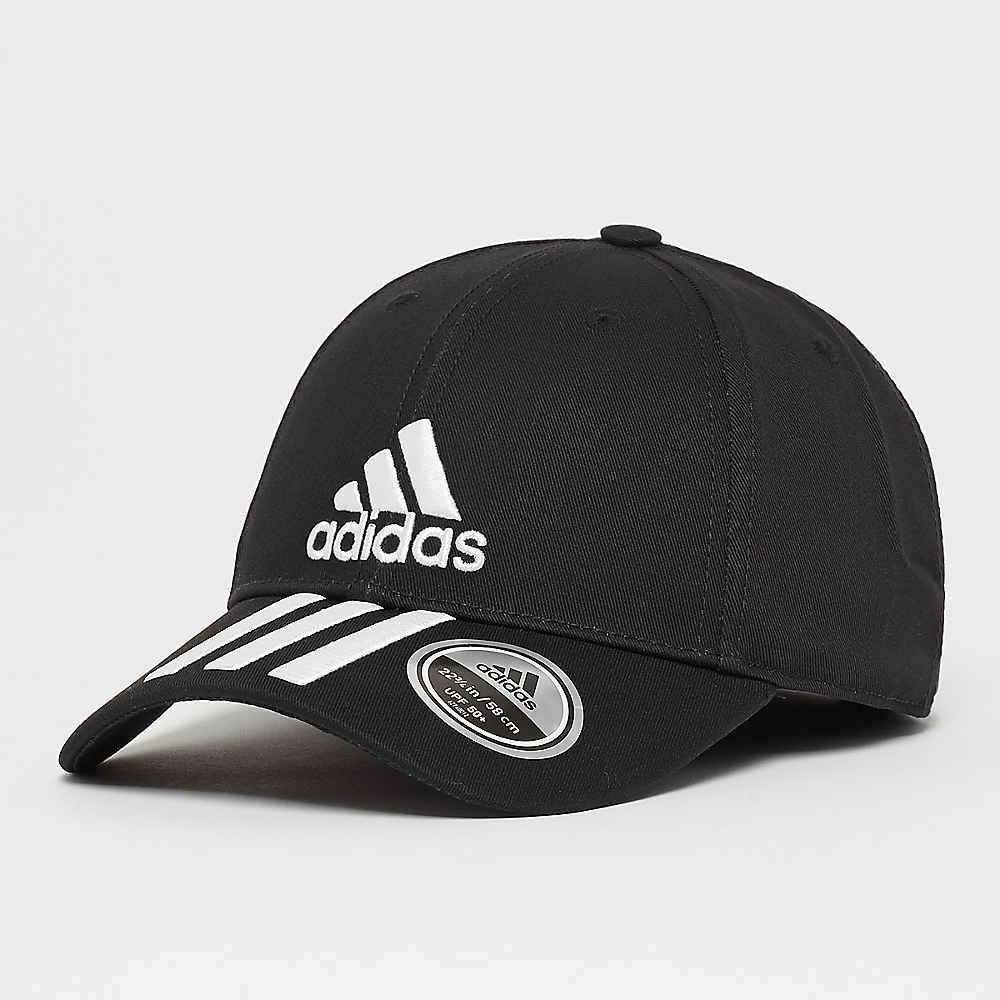 Compra adidas 6P 3S Cap Cotto black white white Gorras de Baseball en SNIPES 5e717d40ee7
