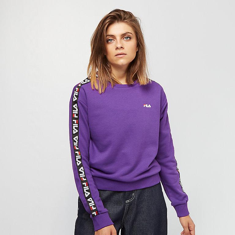 Sweatshirts Fila Tivka Crew Sweater Black   Footshop
