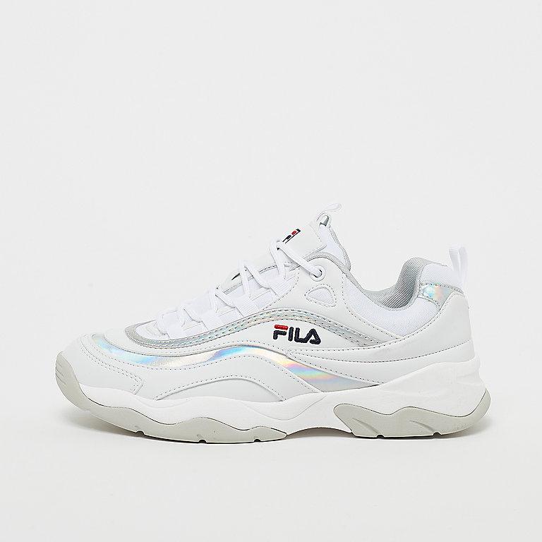 FILA WMN Heritage Ray M Low White/Silver White/Silver