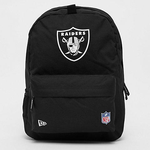 more photos 21a7f baff2 New Era NFL Stadium Bag Oakland Raiders black official team colour