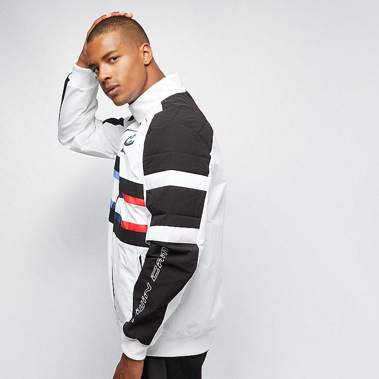 BMW MMS Street Woven Jacket puma white