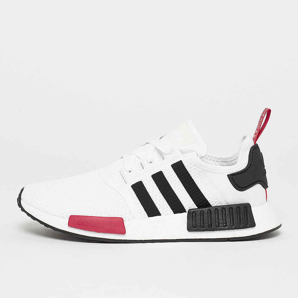 sale retailer 469a2 eb1a9 SNIPES Exclusive NMD_R1 white/black/power red