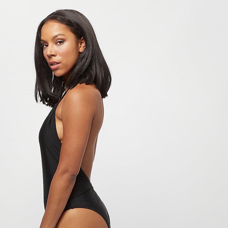 fa5cd681e8 Urban Classics Ladies Deep Neck Swimsuit black Bikinis bei SNIPES bestellen