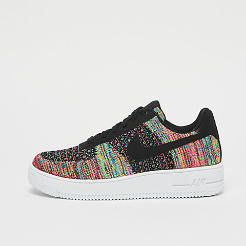 fc45e42407 NIKE Air Force 1 Fly Knit 2.0 (GS) black/black-hyper pink