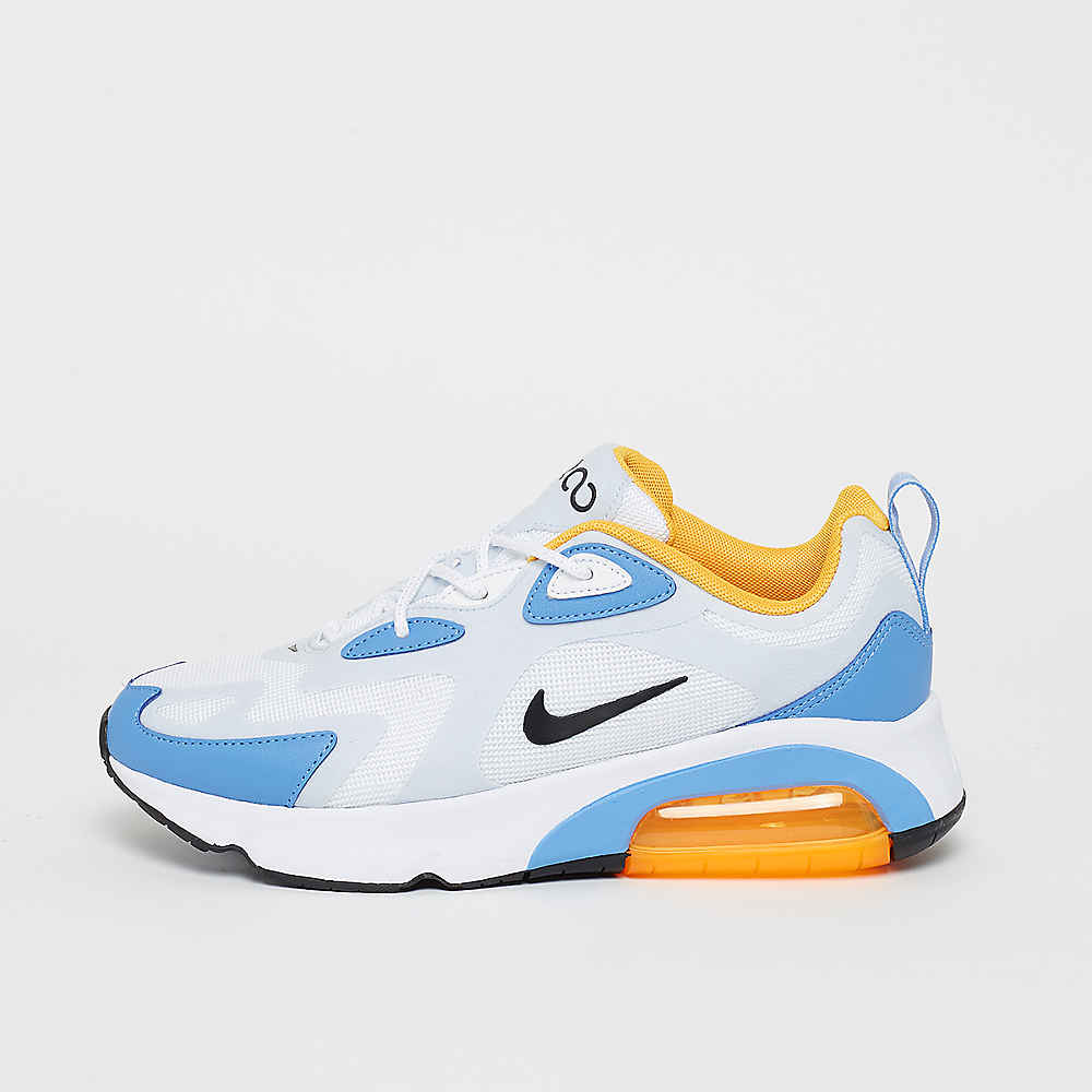 Air Max 200 whiteblackhalf blueuniversity blue whiteblackhalf blueuniversity blue