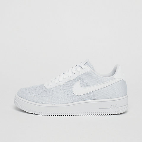 ecd12ea8c76 NIKE Air Force 1 Flyknit 2.0 white/pure platinum/pure platinum