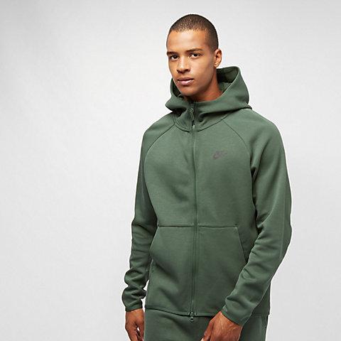 ba5f486461183 NIKE Sportswear Tech Fleece FZ galactic jade/black galactic jade/black