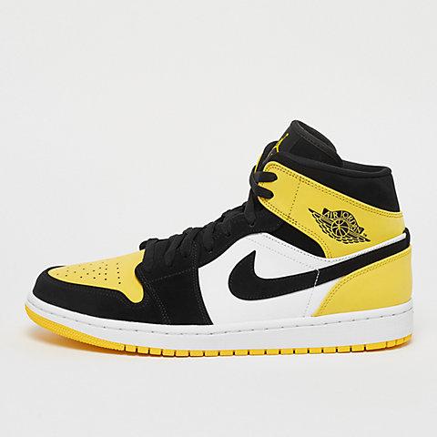 e019e3614d JORDAN Air Jordan 1 Mid SE black/black-tour yellow-white