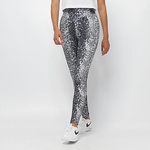 8d374de2 Urban Classics Ladies AOP High Waist Leggings grey snake