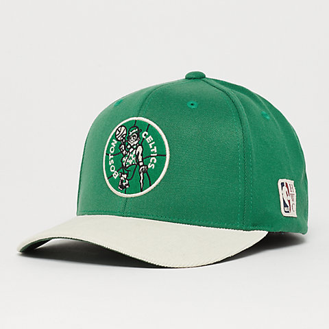 meet bd57d ba392 Mitchell   Ness HWC Cord Snapback Boston Celtics green