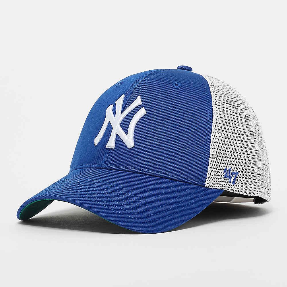Compra 47 Brand MLB New York Yankees Branson  47 MVP Youth royal Gorras  Trucker en SNIPES 4c190f944d7
