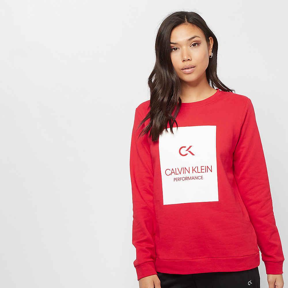 Calvin Klein Performance Billboard Pullover high risk red