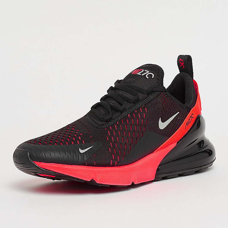 Air Max 270 blackmetallic silverbright crimson