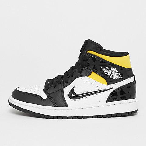 922f3dad78 JORDAN Air Jordan 1 Mid SE Q54 black/black/white/multi color